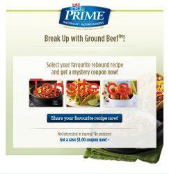 offer liked share 1 - Coupon mystère sur la viande hachée de Maple Leaf Prime!