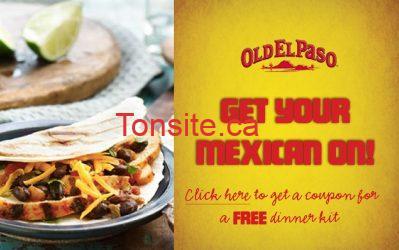 old el paso - Kit Old El Paso gratuit! Vite vite vite!!!