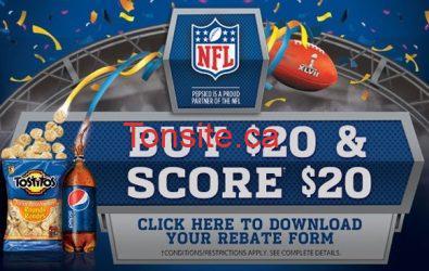 pepsi promo - Pepsi : pour 20$ d'achats, obtenez 20$ remboursés !