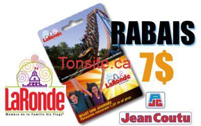 rabais laronde jean coutu - Rabais de 7$ à la Ronde chez Jean Coutu!