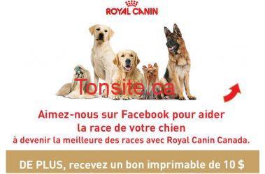 Photo of Coupon de 10$ sur la formule pour chiens Royal Canin Breed Health Nutrition!