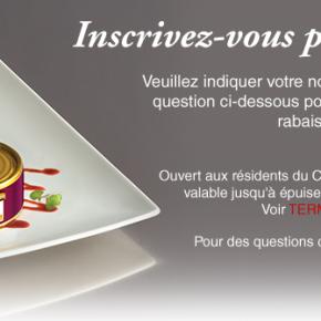 signup fr 290x290 - Clover Leaf : nouveau coupon rabais de 1$ !