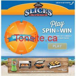 slices - Concours Black Diamond : Gagnez un ensemble cadeau Hamilton Beach!