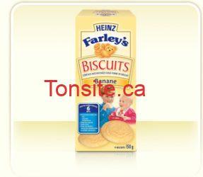 stage2 cereal farleys biscuits banana - Collations Bouts d'chou de Heinz à 1$ après le coupon à imprimer!