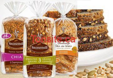 stonemill - Coupon Rabais de 2$ sur le pain Stonemill!