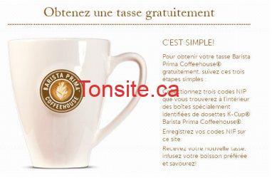 tasse gratuite - Obtenez une tasse Barista Prima gratuitement (avec achat)