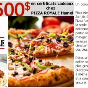 thumb.large810.515d896b 53c4 46e8 a9f9 34623ed44403 290x290 -  500$ en certificats cadeaux chez Pizza Royale à gagner !