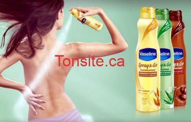 vaseline spray and go - Coupon rabais de 2$ sur de la Vaseline Spray N Go (Smartsource)
