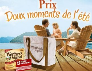 werthers - Concours Werther's Original : gagnez des produits Werther's Original gratuits pour un an!