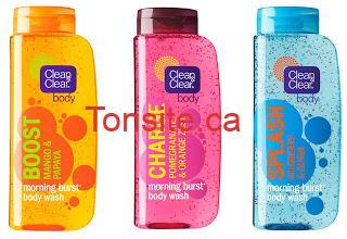 CleanClearMorningBurstBodyW - Gel nettoyant Clean & Clear Morning Burst à 1.49$ après coupon!