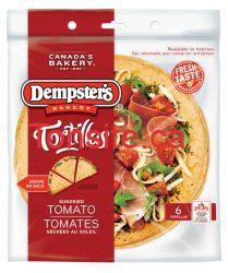 Dempsters POM - Coupon rabais de 1$ sur les produits Tortillas Dempster's, POM, ou Bon Matin