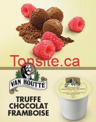 KCup Truffe chocolat framboise Van Houtte Cover FR - Demandez vos échantillons gratuits de dosettes K-Cup Truffe chocolat framboise Van Houtte