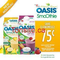 Oasis jus - Coupons rabais Jus Oasis