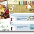 ban magazine9 120x120 - 3 Nouveaux Coupons rabais de 3$ pour: Damablanc 1$,Brie Camembert 1$, Taztziki 1$ de Damafro