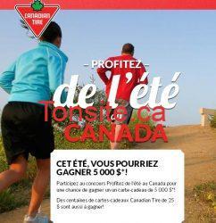 canadiantire concours - Concours Canadian Tire : Gagnez une carte-cadeau de 5 000$!