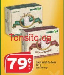 caprinaproxim - Pain de savon Caprina à 0.29$ après coupon!