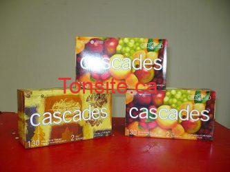 cascades mouchoirs - Paquet de 3 boites de mouchoirs Cascades à 99¢ seulement!!