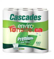 cascades - Cascades Essuie tout 6 rouleaux à 2.99$ après coupon à imrpimer!