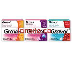 cdc gravolnewline pg - Coupon rabais de 1 $ sur les produits de Gravol !