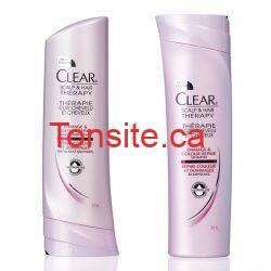 clear2 - Shampoing ou revitalisant Clear à 0.62$ après coupon !!