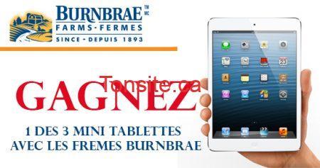 concours burnbrae tablette 570 - Les Fermes Burnbrae: Gagnez 1 des 3 mini tablettes