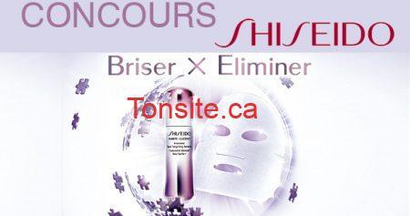 concours chatelaine shiseido - Concours Châtelaine : Gagnez des produits Shiseido!