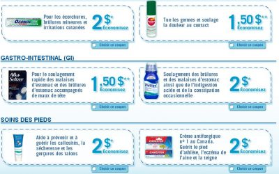 coupon a imprimer premier soins - Plusieurs coupons rabais de la marque Bayer pour les premiers soins ( valeur de 11$) !
