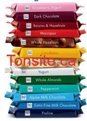 coupon rabais barre - Coupon rabais 1.00$ à l'achat de 2 barres de chocolat Ritter Sport!