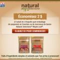 coupon rabais natural selection 120x120 - Coupon Rabais à imprimer de 2$ sur le pepperonni ou bacon natural selection de mapleleaf