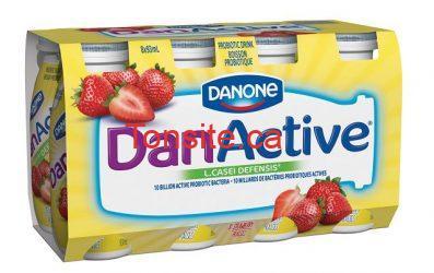 danactive - Participez au concours Danactive et recevez instantanément un coupon rabais de 2$