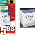 dove pains 120x120 - 4 Pains de savon Dove à 0,99$ après coupon!