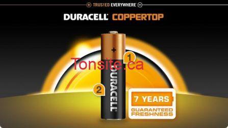 duracell coppertop - Les piles Duracell AA Gratuits aprés coupon!