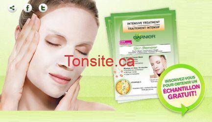 garnier sample - GRATUIT: Demandez votre échantillon gratuit de masque traitement taches brunes GARNIER