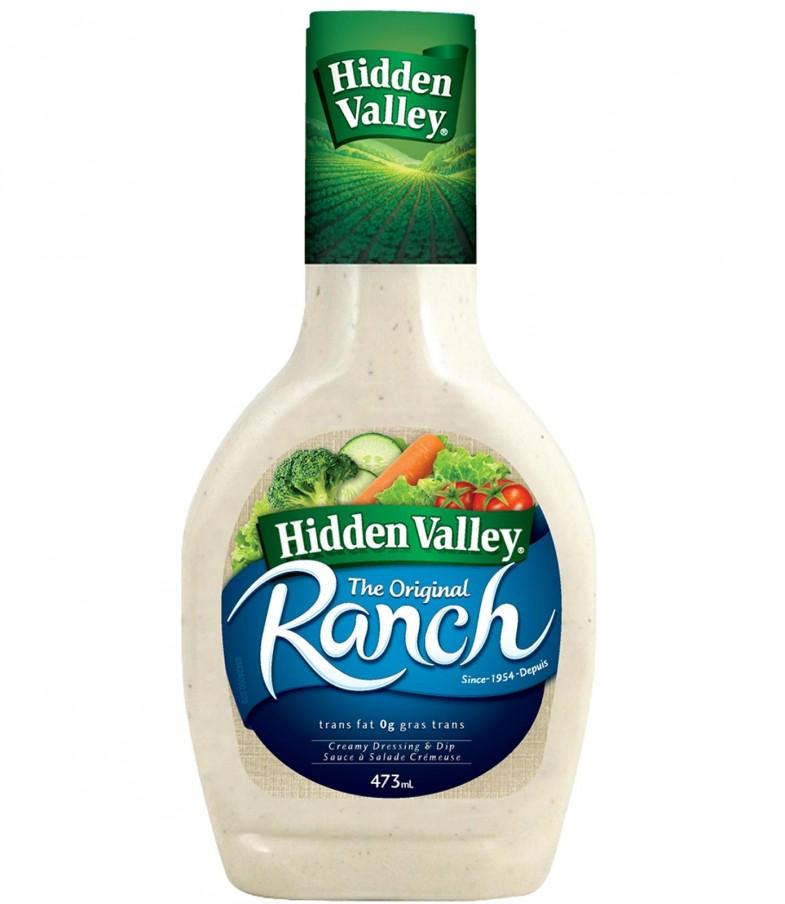 hiddenvalley 785x904 - Coupon rabais à imprimer de 50¢ sur toute bouteille de 473 ml de sauce à salade ranch Hidden Valley