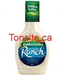 hiddenvalley - Coupon rabais à imprimer de 50¢ sur toute bouteille de 473 ml de sauce à salade ranch Hidden Valley
