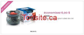 images 6 - Coupon de 6$ sur les brûleurs électrique pour cube de cire de Glade!