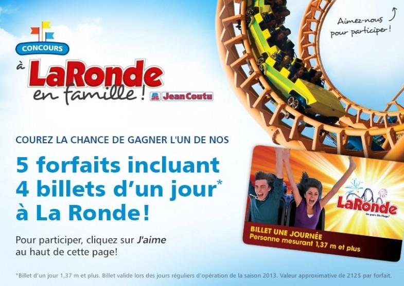 jean coutu laronde 785x557 - Concours Jean-Coutu: Gagnez 5 forfaits La Ronde!