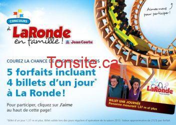 jean coutu laronde - Concours Jean-Coutu: Gagnez 5 forfaits La Ronde!