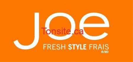 joefresh - Coupon rabais Joe Fresh de 10$ à imprimer!