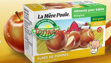 lamerepoule - Coupon rabais à imprimer de 1$ sur les produits La Mère Poule