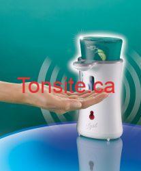 lysol no touch - Distributeur de savon à mains No-Touch de Lysol à 4$ après coupon!