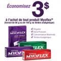 myoflex coupon 120x120 - Coupon rabais à imprimer de 3$ à l'achat de tout produits Myoflex !