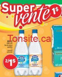 nestle 1 dollar - GRATUIT!: Eau de source gazéifiée Nestlé Pure Life gratuit après coupon!