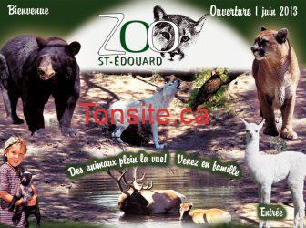 nouveau front2013 - Coupon Rabais pour le Zoo St-Edouard de 2$ !