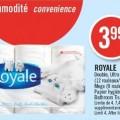 royale 1 120x120 - 12 rouleaux de papier hygiénique à 2,99 $ après coupon imprimable!!