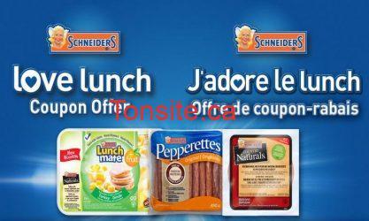 shneiders - Coupons rabais sur des produits Schneiders