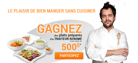 slide concours fr - Gotraiteur: Gagnez des plats préparés d'une valeur de 500$