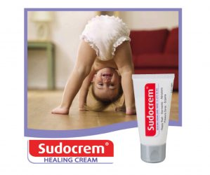 sudocrem - Coupon rabais imprimable de 1$ sur un tube du traitement de l'érythème fessier, de la peau sèche des bébés SUDOCREM