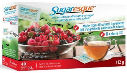 sugaresque sweetner - Coupon rabais à imprimer de 1$  sur les produits Sugaresque!