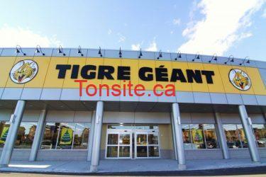 tigregeant - Tigre Géant: inscrivez vous et obtenez un coupon rabais de 5$ sur tout achat de 15$ ou plus